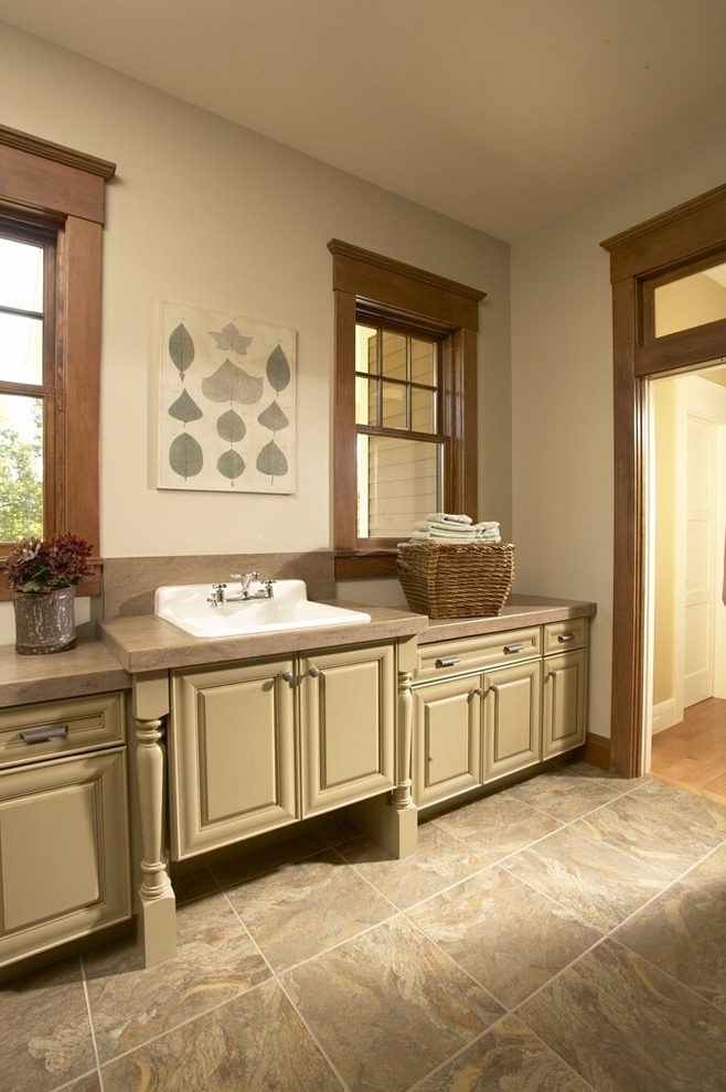 Cedar Rapids Kilim Beige Pictures Laundry Room Traditional