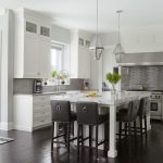Chicago white glazed Kitchen Transitional with stone and countertop manufacturers showrooms frosted glass kitchen5