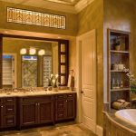 Denver houzz bathroom lighting Bathroom Traditional with stone and countertop professionals recessed shelves