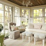 Family Room black settee chic Style Shabby with window dealers and installers three season room