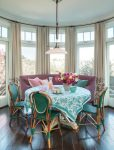 Good-looking Dining Settee Dining Room Transitional Home Renovations with Kitchen and Bathroom Designers