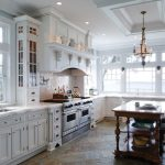 San Francisco white glazed Kitchen Traditional with kitchen and bathroom remodelers glass knobs