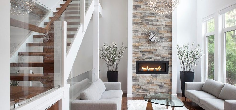 Calgary fireplace hearth stone Living Room Contemporary with window dealers and installers new york studio apartment design