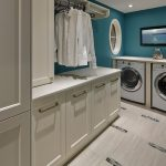 Laundry Room laundry room hamper ideas Contemporary SHOWHOME IN THE CREEKS DEVELOPMENT with combination closet