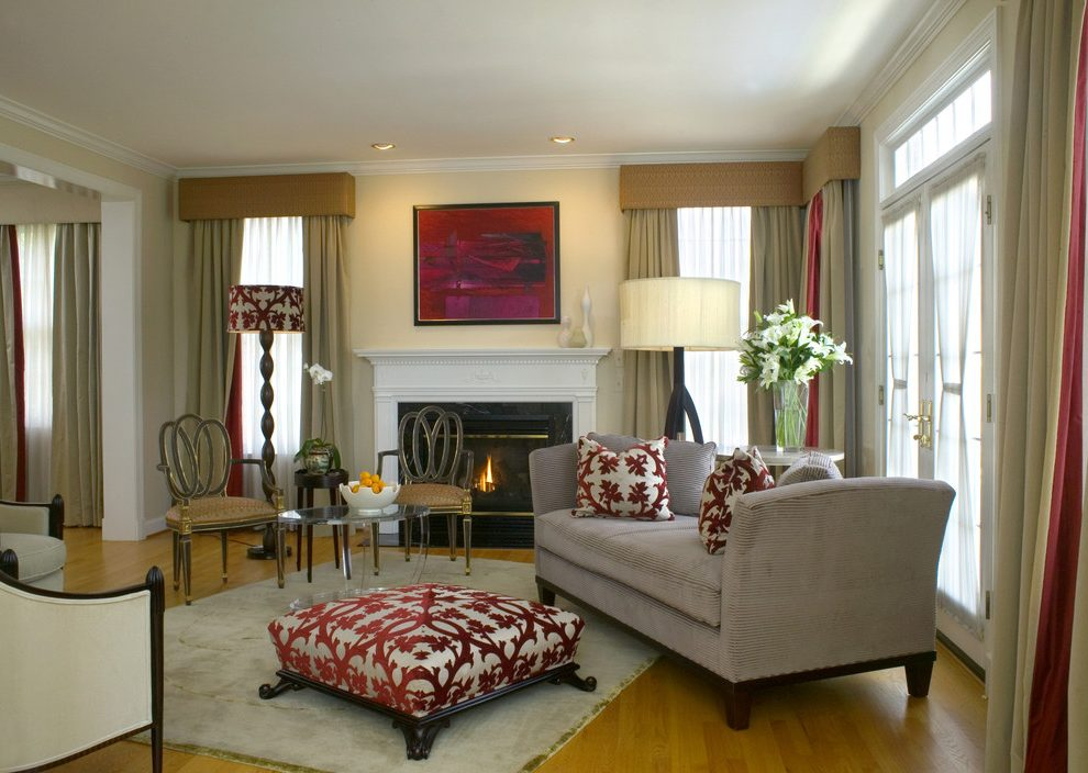 Decorating your living room properly will. Living Room how to decorate with a red couch Traditional ...
