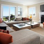 Orange County fireplace mantels with tv above Family Room Transitional chimney cleaners ottoman tray