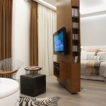 Other popular room divider Bedroom Contemporary with studio apartment