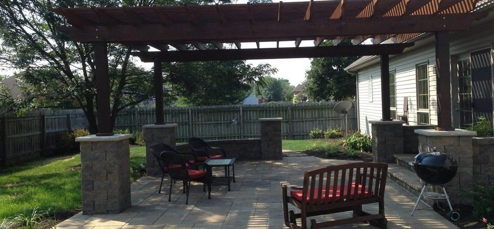 by Clean Cut Lawn & Landscape back to couches Indianapolis Patio with lawn care and sprinklers x18 patio ideas