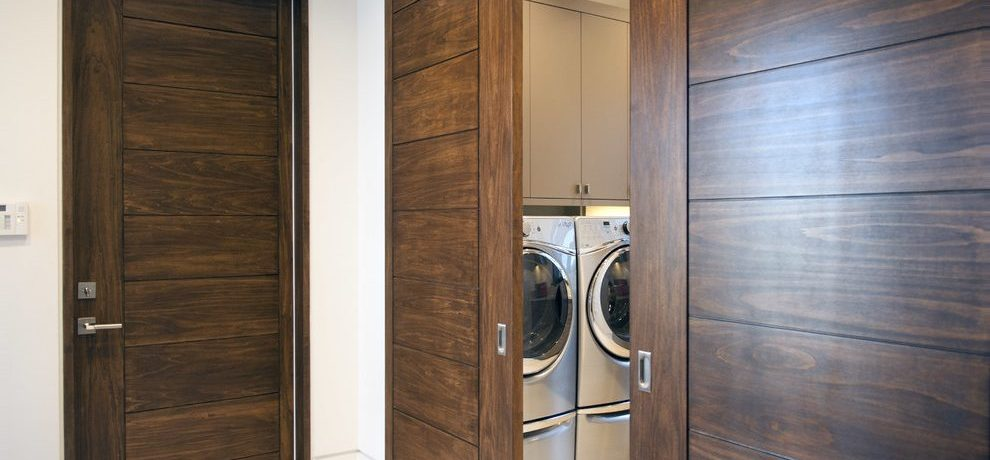 by TruStile Doors vintage boys room Denver Laundry Room with stone and countertop manufacturers showrooms drop down table laundry ideas