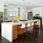 Atlanta china cabinet designs Kitchen Contemporary with kitchen and bathroom remodelers large island ideas