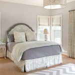 Boston white and purple bedroom Bedroom Beach Style with window treatment professionals paisley bedding