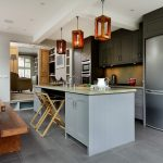 London painting cabinets gray Kitchen Contemporary with stone and countertop manufacturers showrooms kitchen