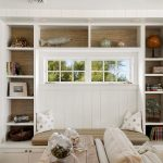 New York white fluffy pillows Family Room Beach Style with window dealers and installers medium bedroom ideas photos
