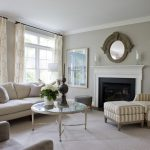 DC Metro benjamin moore revere Living Room Traditional with fireplace manufacturers and showrooms pewter wall