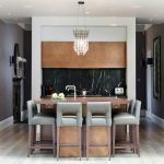 London lucite bar stool Kitchen Contemporary with stone and countertop manufacturers showrooms home ideas