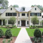 New York benjamin moore revere Exterior Traditional with window dealers and installers boxwood shrub pictures