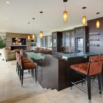 Orange County lucite bar stool Home Bar Contemporary with wine cellar designers and builders glass countertops