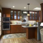 San Francisco tile to carpet transition Kitchen Traditional with kitchen and bathroom remodelers floor