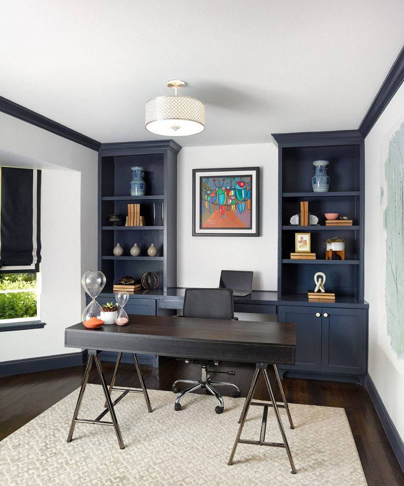 Family Room Home Office Decorating Ideas