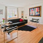 Detroit modern rocking chair Living Room Contemporary with chimney cleaners black couch