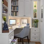 Home Office Studio Apartment Pictures Traditional Armonk, NY with cabinet and cabinetry professionals low basement ceilings