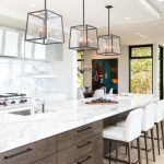 Outstanding luxury kitchen cabinets Contemporary Kitchen in Vancouver with eat and range hood