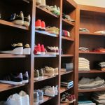 Dishy closet conversion ideas Home Organizing Professionals Traditional in Closet with shoe shelf and storage