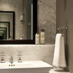 Delightful marble for bathrooms in with bathroom mirror and