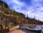 Imaginative Pondless Water Feature Southwestern Pool Amazing Ideas with Desert Landscape and Reverse Vanishing Edge