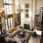 Magnificent cool kid room Traditional Living Room in Kansas City with ceiling to floor windows and