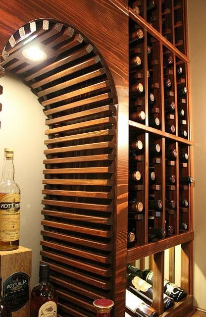 Astonishing wine bar design ideas Wine Cellar Design in with built-in storage and