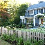 Blooming vegetable garden fence ideas in with wood fencing and cottage