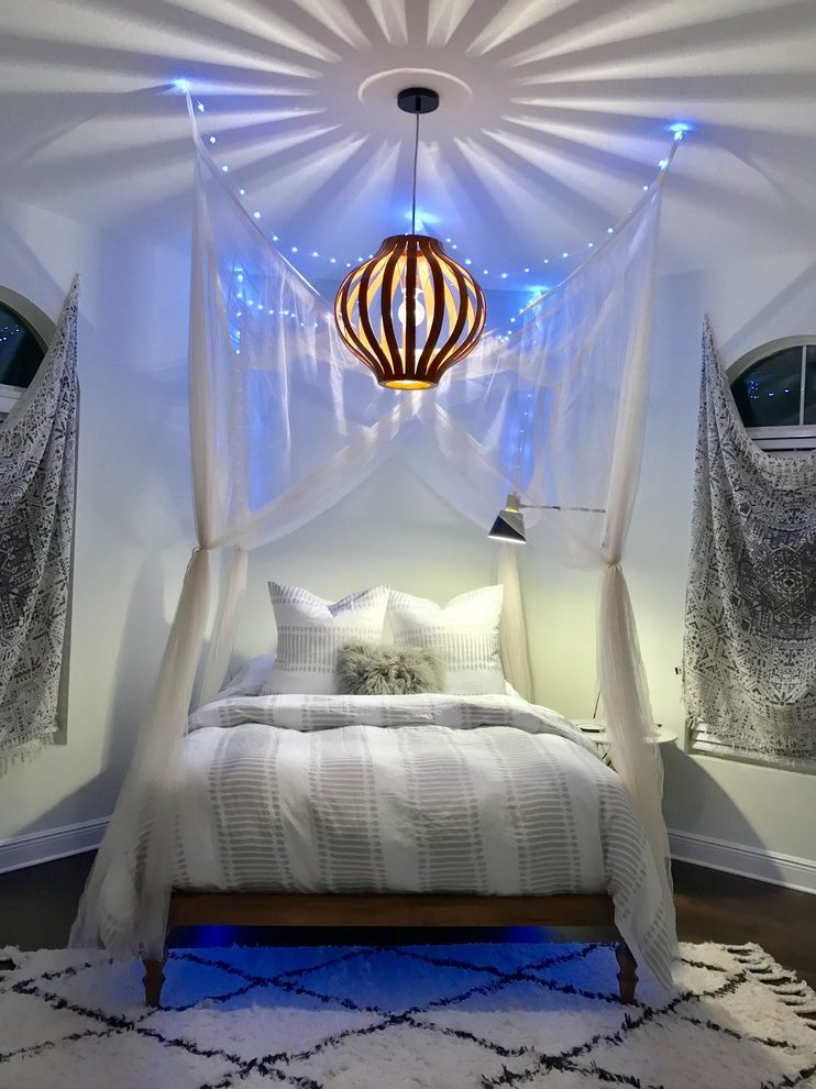 teen canopy beds arched windows