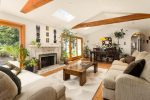 Imaginative Cathedral Ceiling Living Room Designing Tips with Natural Light and