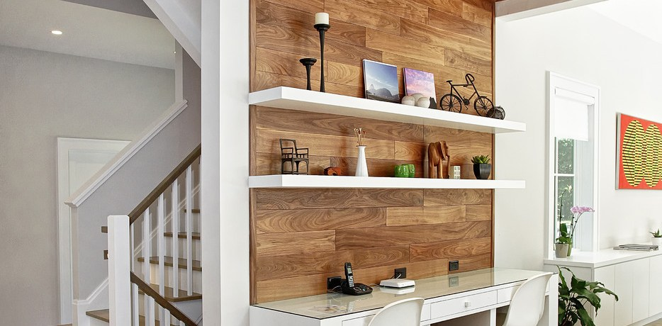 Kitchen Desk Ideas Westport, CT  White Desk Chairs And Wood Ceiling Floating Shelves Open Recessed Lighting Shared Desk White Desk Chairs Wood Ceiling
