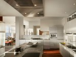Impressive Kitchen Exhaust Fan Designing Tips with Ceiling Design and Glass Floor