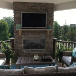 Awesome Outdoor Gas Fireplace Porch Contemporary With Custom Outdoor Fireplace And Man Made Stone Outdoor Fireplace Custom Outdoor Fireplace Fireplaces Gas Burning Fireplaces Man Made Stone Gas Stone