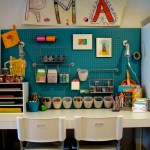 Beautiful Pegboard Kitchen Ideas Kids Contemporary With Workstation And Workstation Craft Room White Desk Workstation
