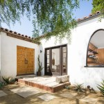 Delightful Front Door Window Treatments Entry Mediterranean With Arch Window And Arch Window Arch Window Double Wood Doors Mediterranean Plants Spanish Colonial