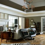 Extraordinary Sunburst Wall Clocks Living Room Eclectic With Leather Chair And Medium Hardwood Flooring Black Lamp Shade Black Leather Chair Tufted Table Lamp Dark Wood End Eclectic Chandelier French