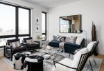 Good-looking Apartment Living Room Decorating Ideas Contemporary with interior Design Brooklyn Modern Accent Pillows Sophisticated Mixed Patterns Throw Pillows Minimalist