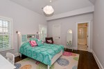 Marvelous Les indiennes Bedding Kids Eclectic with White Door Desk Pendant Light Floor Mirror Blue Pink Throw Pillow Wood Blinds Dark Colorful Rug Green