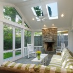 Delightful Screened Porch Furniture Porch Traditional With Tile Floor And Woven Furniture Beadboard Ceiling Fan Coffee Tables Garden Room Raised