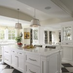 Glorious Hardware For White Kitchen Cabinets Kitchen Traditional With Dining Hutch And BLACK AND WHITE FLOOR Apron Sink Black And White BLACK AND