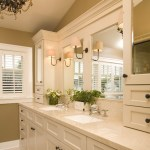 Good-Looking Lowes Bath Mirrors Bathroom Traditional With Shaker Style And Double Sinks Bathroom Hardware Storage Chandelier Crema Marfil Double Sinks