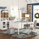 Good-Looking Pottery Barn Bedford Corner Desk Home Office Contemporary With Beige Task Chair And Blue Walls Beige Task Chair Blue Walls Pendant Lights