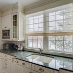 Good-Looking Sheer Roman Shade Kitchen Contemporary With Off White Roman Shade And Light Filtering Shade Kitchen Window Light Filtering Shade Off