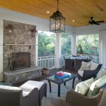 Good-looking Screened Porch Design Porch Traditional With Ipe Decking And Fireplace Screen Ceiling Fans Fireplace Screen Ipe Decking Outdoor Pine