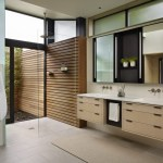 Imaginative Wood Paneling Bathroom Bathroom Modern With Master Bathroom And Courtyard Showers Bathroom Courtyards Courtyard Showers Double Bath Sinks