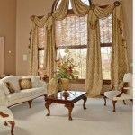 Impressive Sheer Roman Shade Living Room Traditional With Large Window Treatment And Large Window Treatment 2 Story Window Treatment Austrian Shade